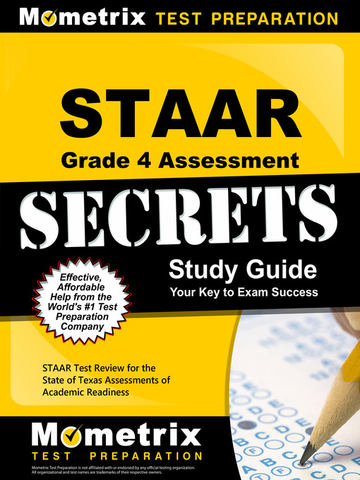 Title details for STAAR Grade 4 Assessment Secrets by STAAR Exam Secrets Test Prep Team - Available