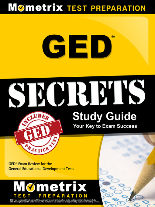Title details for GED Exam Secrets Study Guide by GED Exam Secrets Test Prep Team - Available