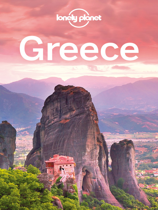 Title details for Greece Travel Guide by Lonely Planet - Wait list