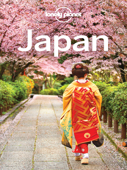 Title details for Japan Travel Guide by Lonely Planet - Wait list