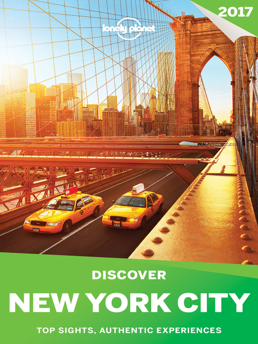 Cover of Lonely Planet's Discover New York City