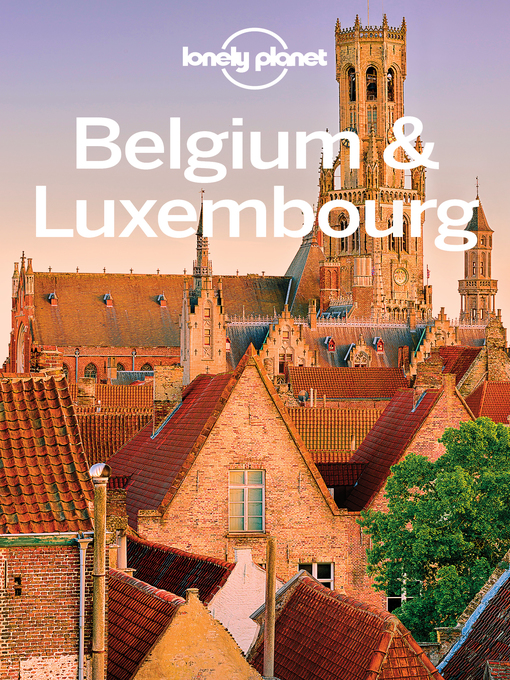 Cover of Belgium & Luxembourg Travel Guide