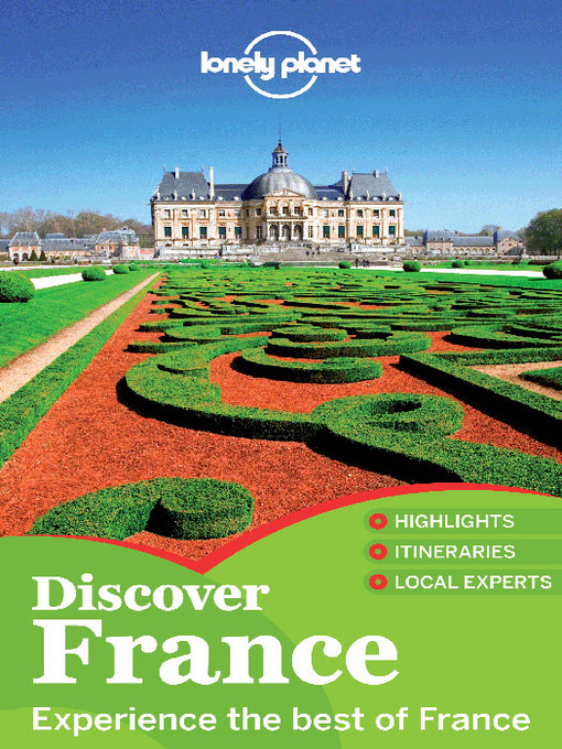 Title details for Discover France by Lonely Planet - Available