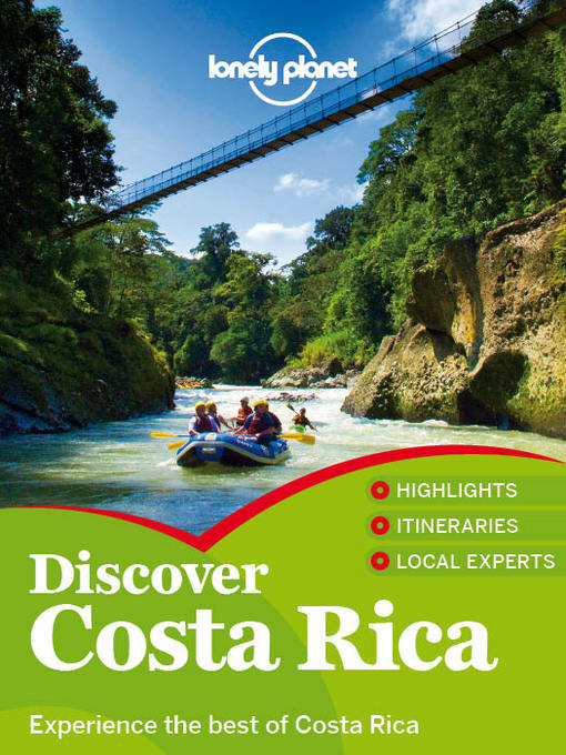 Title details for Discover Costa Rica Travel Guide by Lonely Planet - Available