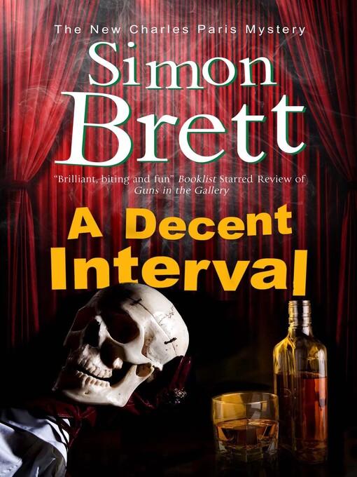 Title details for A Decent Interval by Simon Brett - Wait list