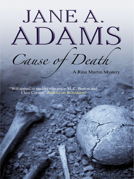 Title details for Cause of Death by Jane A. Adams - Wait list