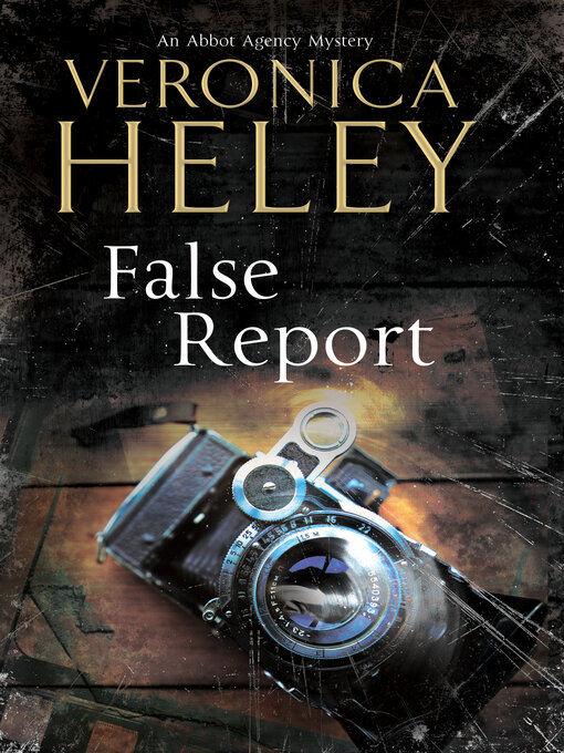 Cover image for False Report