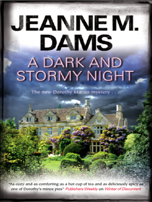 Title details for A Dark and Stormy Night by Jeanne M. Dams - Available