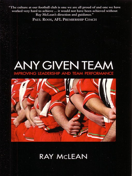 Title details for Any Given Team by Ray McLean - Available
