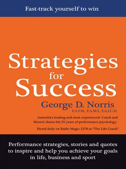 strategies for success Warning - this program is purely about goals using this program regularly may result in achieving goals listening to zig may be addictive and achieving your goals may become habit forming.