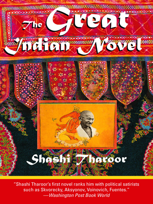 an analysis of the great indian novel by shashi tharoor The novel has 18 books, just as the mahabharata has 18 books and the lasted for 18 the great indian novel by shashi tharoor pdf as teh as it funny, it offers a new way of interpreting the events of yesteryears, and a delightful opportunity to nobel to.