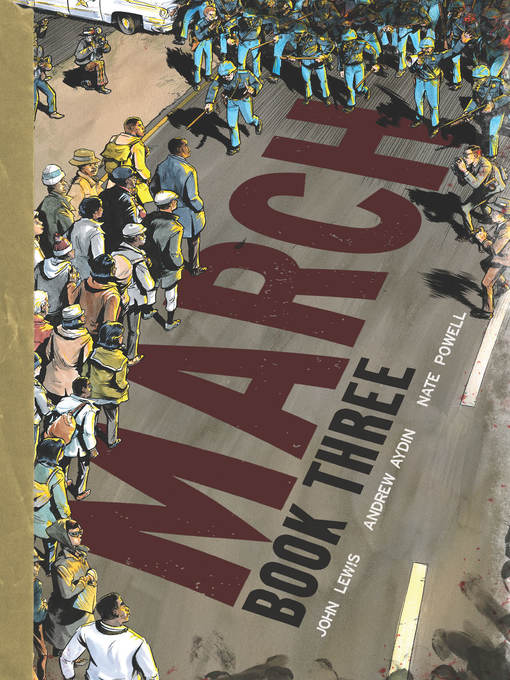 Couverture de March (2013), Book Three