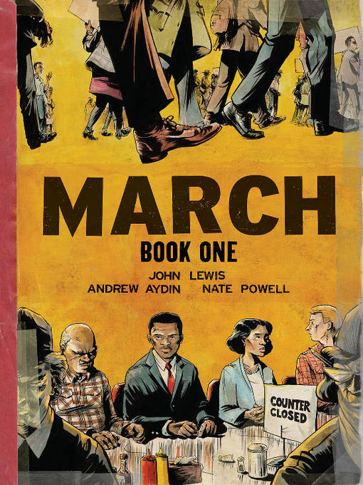 Cover of March (2013), Book One