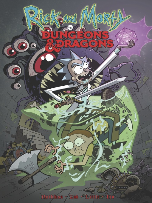 Title details for Rick and Morty vs. Dungeons & Dragons by Patrick Rothfuss - Available