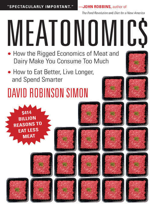 Title details for Meatonomics by David Robinson Simon - Available