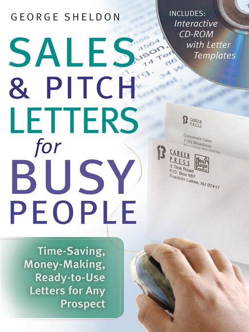 Title details for Sales & Pitch Letters for Busy People by George Sheldon - Available
