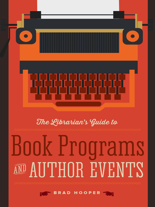 Cover of The Librarian's Guide to Book Programs and Author Events