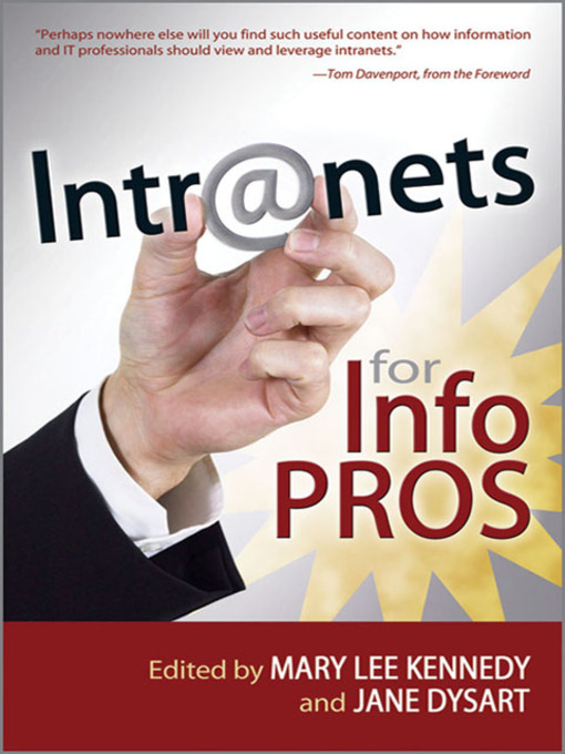 Intranets for Info Pros