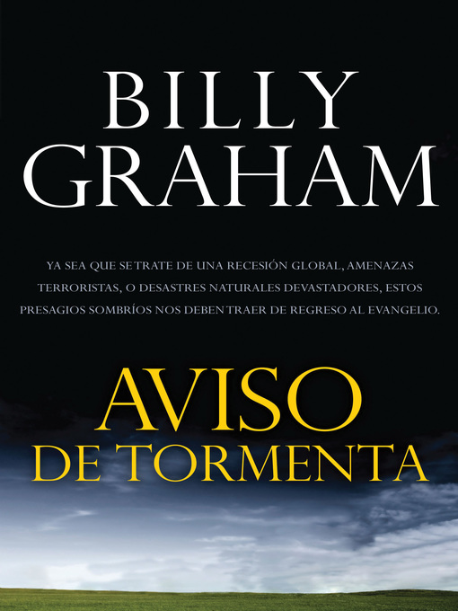 Title details for Aviso de tormenta by Billy Graham - Available