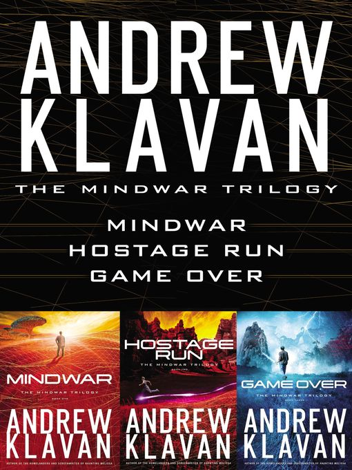 Title details for MindWar, Hostage Run, and Game Over by Andrew Klavan - Available