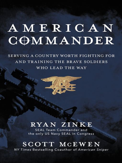 Title details for American Commander by Ryan Zinke - Wait list