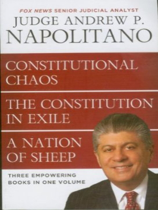Title details for Napolitano 3 in 1 by Andrew Napolitano - Wait list
