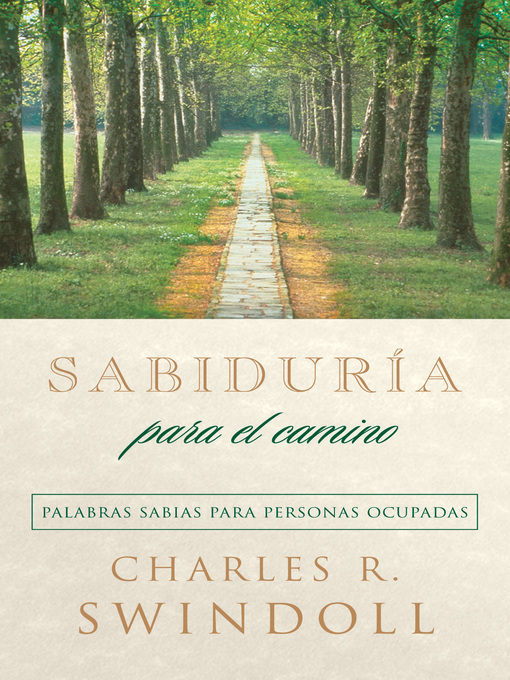 Title details for Sabiduría para el camino by Charles R. Swindoll - Available