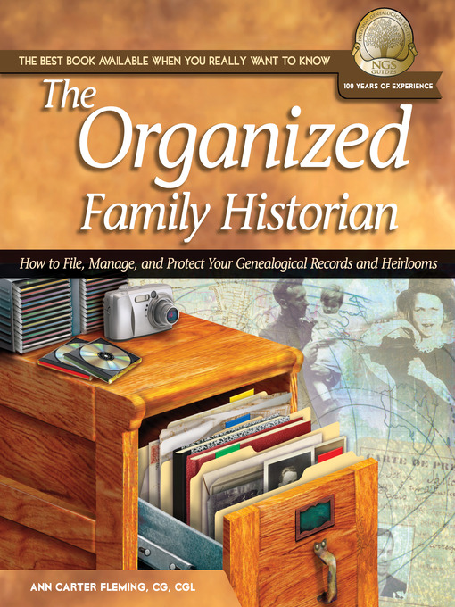 Title details for The Organized Family Historian by Ann Carter Fleming - Available