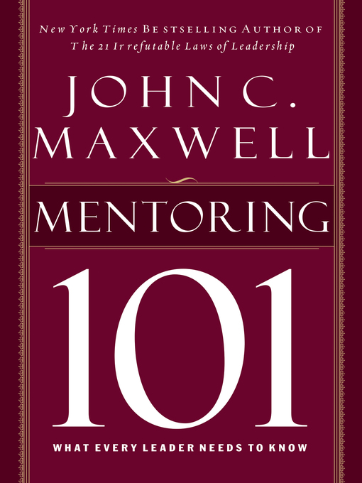 Cover of Mentoring 101