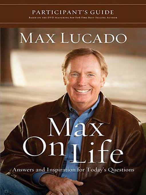 Cover of Max on Life Participant's Guide