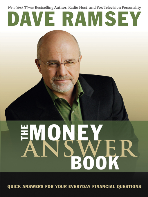 Title details for The Money Answer Book by Dave Ramsey - Wait list