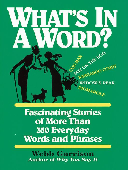 Whats In A Word Media On Demand Overdrive