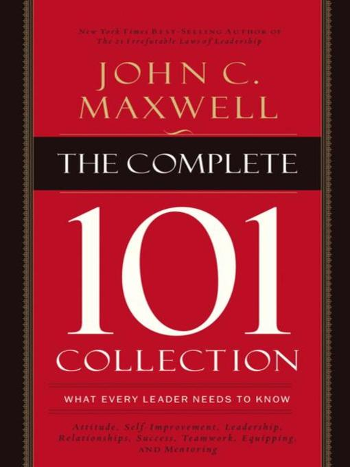 Title details for The Complete 101 Collection by John C. Maxwell - Available