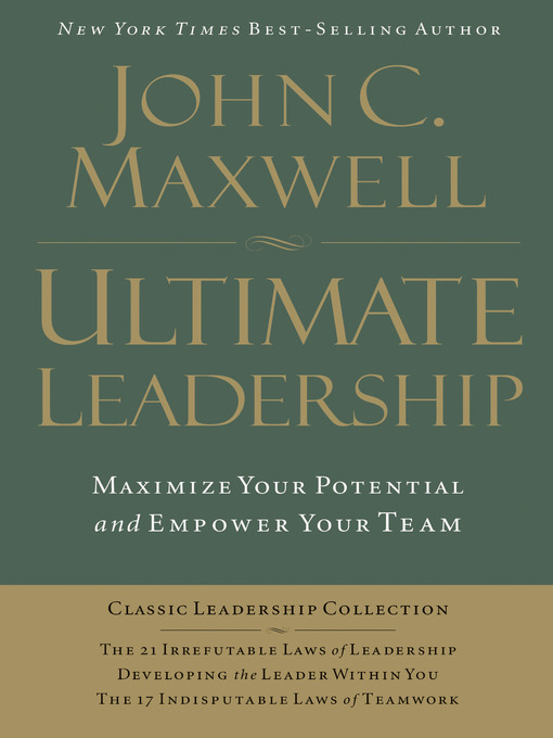 Cover of Ultimate Leadership