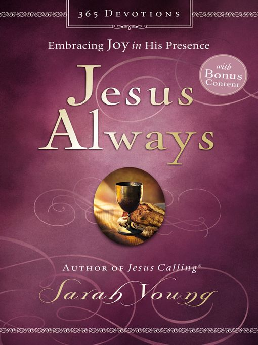 Title details for Jesus Always (with Bonus Content) by Sarah Young - Available