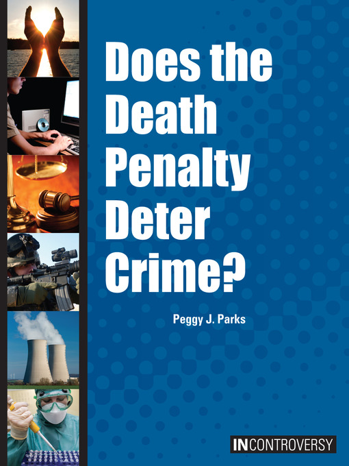 is death penalty a deterrent for Does capital punishment deter murder a brief look at the evidence by john lamperti death penalty can be an effective deterrent against specific crimes.