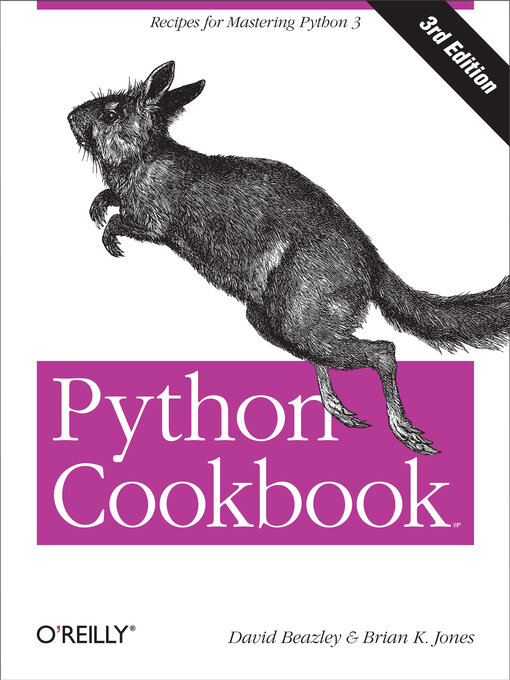 Title details for Python Cookbook by David Beazley - Available