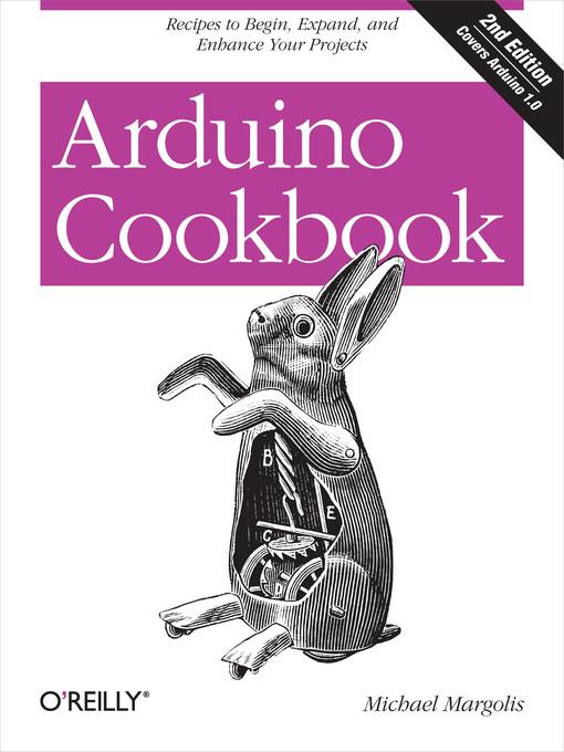 Title details for Arduino Cookbook by Michael Margolis - Wait list