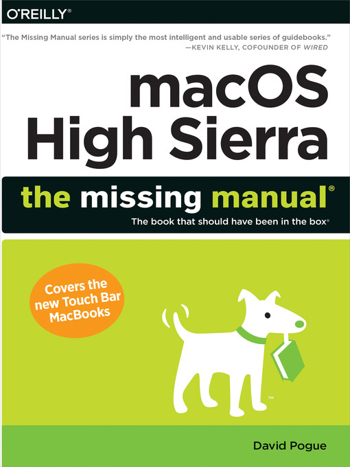 Title details for macOS High Sierra by David Pogue - Available