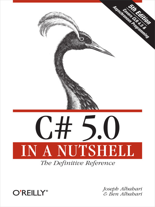 Title details for C# 5.0 in a Nutshell by Joseph Albahari - Available