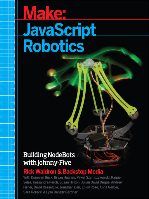 Title details for JavaScript Robotics by Backstop Media - Available