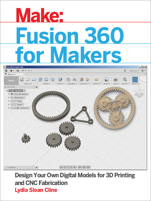 Title details for Fusion 360 for Makers by Lydia Sloan  Cline - Wait list