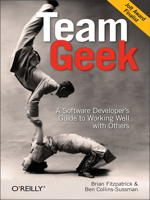 Cover of Team Geek