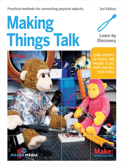 Title details for Making Things Talk by Tom Igoe - Wait list
