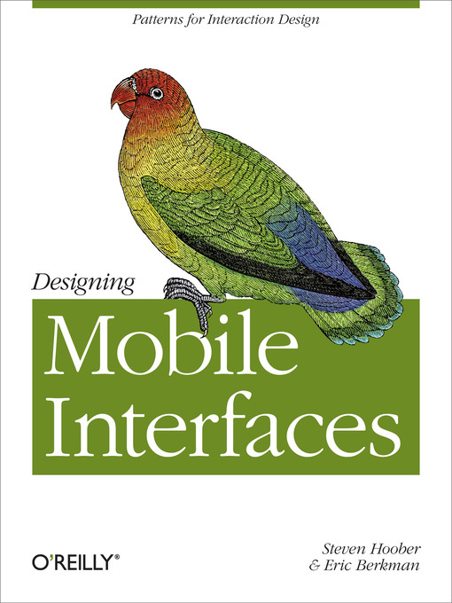 Title details for Designing Mobile Interfaces by Steven  Hoober - Available