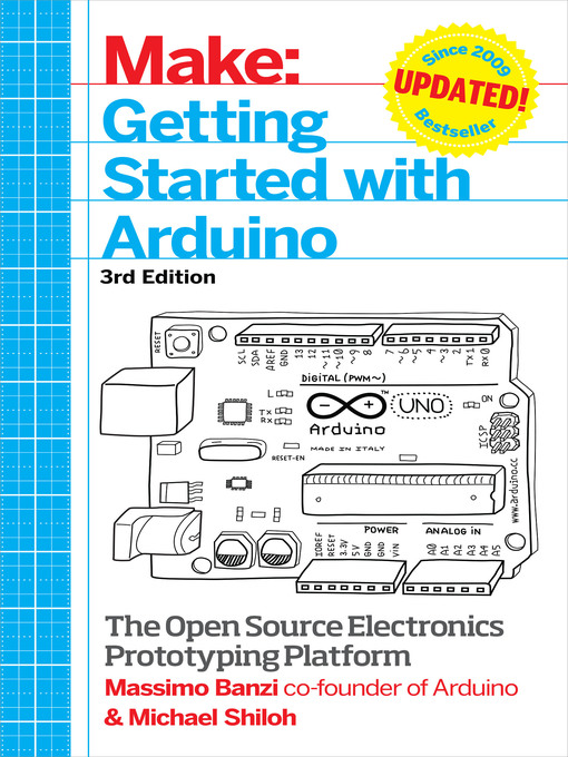 Title details for Getting Started with Arduino by Massimo  Banzi - Available