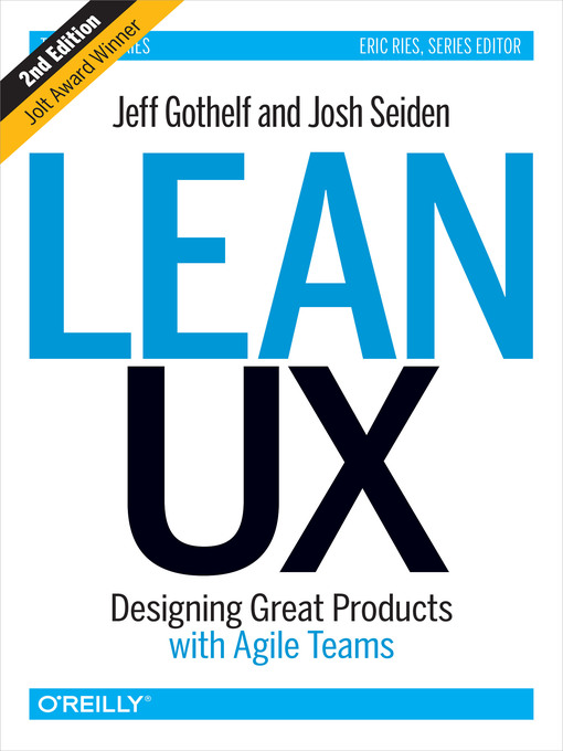 Title details for Lean UX by Jeff Gothelf - Available