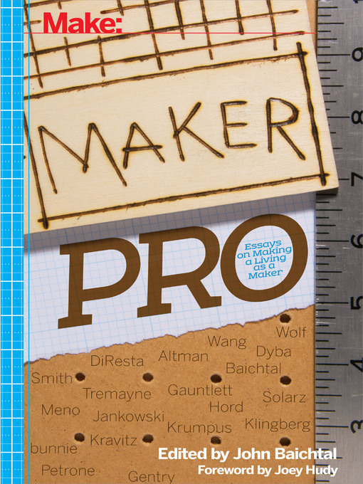 Title details for Maker Pro by John Baichtal - Available