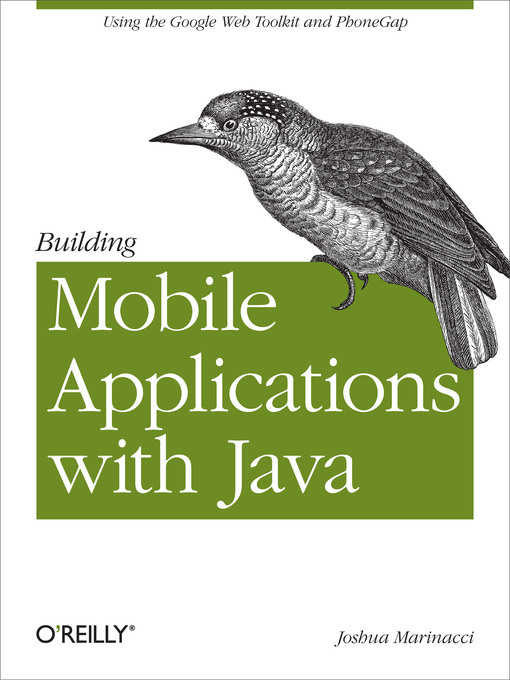 Cover of Building Mobile Applications with Java