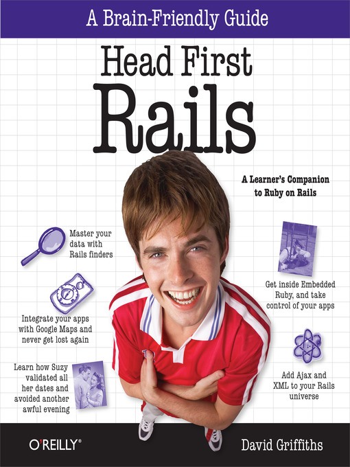 Title details for Head First Rails by David Griffiths - Available